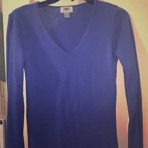 Old navy small blue long sleeve sweater.